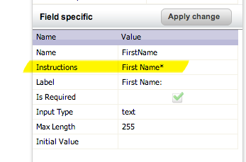 Using Marketo Instructions Field as Placeholder Text